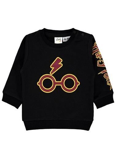 Harry Potter Sweatshirt Siyah